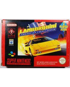 Jeu Lamborghini American Challenge pour Super Nintendo