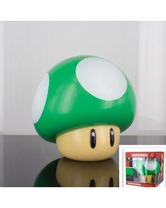 Lampe 3D Nintendo Champignon Vert sonore 10cm