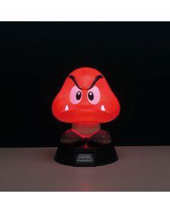 Lampe 3D Super Mario Goomba - 10cm