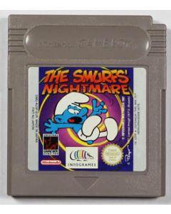 Jeu Le cauchemar des Schtroumpfs pour Game Boy