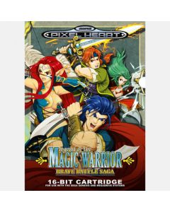 Jeu Legend of the Magic Warrior Brave Battle Saga pour Megadrive