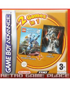 Jeu Lego Knight Kingdom & Lego Bionicle pour Game Boy advance