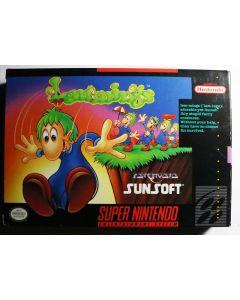 Jeu Lemmings (US) pour Super NES