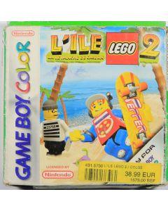 Jeu L'île Lego 2 La Revanche de Casbrik pour Game Boy Color