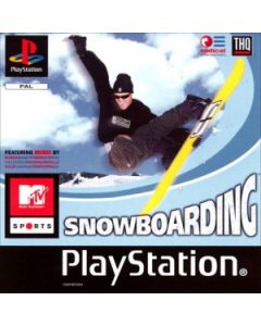 Jeu MTV Snowboarding pour Playstation