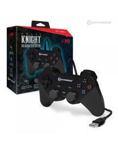 Manette Brave Knight Premium Noire pour PS3