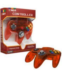 Manette Nintendo 64 Orange translucide
