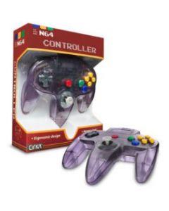 Manette Nintendo 64 Violette translucide