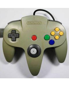 Manette officielle Nintendo 64 Grise (Jaunie)