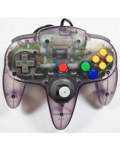 Manette officielle Nintendo 64 Grise translucide