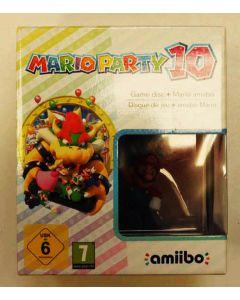 Jeu Mario Party 10 + Amiibo en boîte pour WiiU