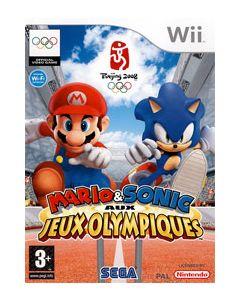 Jeu Mario et Sonic aux Jeux Olympiques pour Wii