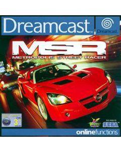 Jeu Metropolis Street Racer pour Dreamcast