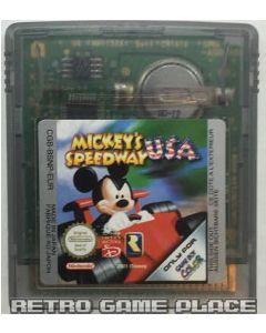 Jeu Mickey Speedway USA pour Game boy color