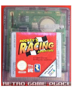Jeu Mickey's Racing Adventure pour Game boy color