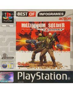 Jeu Millennium Soldier Expendable Best of Infogrames pour Playstation