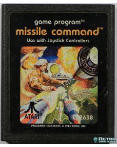Jeu Missile Command pour Atari 2600