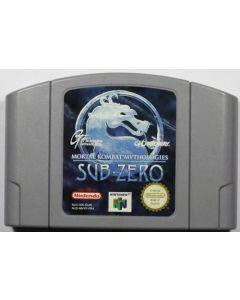 Jeu Mortal Kombat Mithologies Sub-Zero pour Nintendo 64