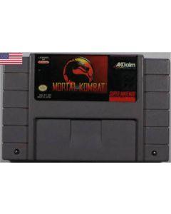 Jeu Mortal Kombat pour Super NES