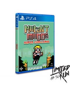 Jeu Mutant Mudds Super Challenge Limited Run pour PS4