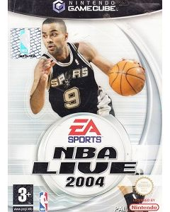 Jeu NBA live 2004 pour Gamecube