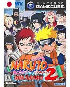 Jeu Naruto – Gekitou Ninja Taisen 2 (Jap) pour Gamecube