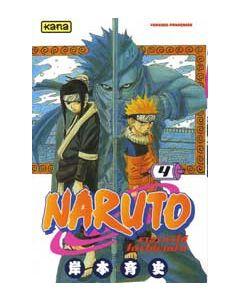 Manga Naruto tome 4