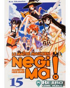 Manga Negima! Le Maître magicien tome 15