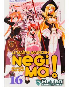 Manga Negima! Le Maître magicien tome 16