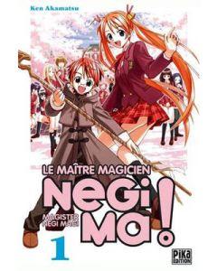Manga Negima! Le Maître magicien tome 01