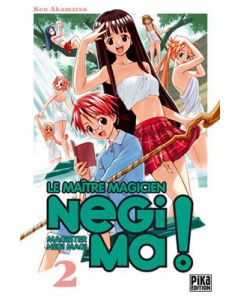 Manga Negima! Le Maître magicien tome 02