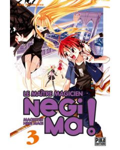 Manga Negima! Le Maître magicien tome 03