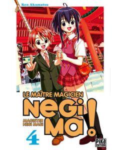 Manga Negima! Le Maître magicien tome 04