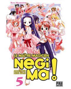 Manga Negima! Le Maître magicien tome 05