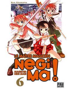 Manga Negima! Le Maître magicien tome 06