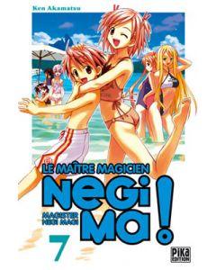 Manga Negima! Le Maître magicien tome 07