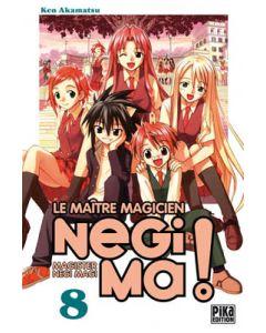 Manga Negima! Le Maître magicien tome 08