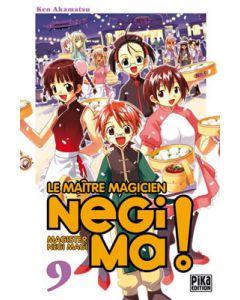 Manga Negima! Le Maître magicien tome 09
