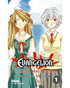 Manga Neon Genesis Evangelion Iron Maiden 2nd tome 01