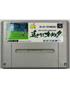 Jeu  New 3D Golf Simulation (JAP) pour Super Famicom