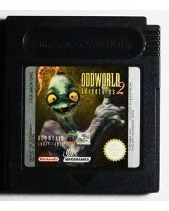 Jeu OddWorld Adventures 2 pour Game boy color