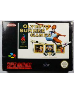 Jeu Olympic Summer Games pour Super Nintendo