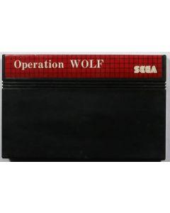 Jeu Operation Wolf pour Master System