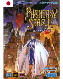 Jeu Phantasy Star II (JAP) pour Megadrive