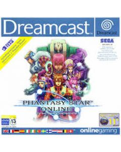 Jeu Phantasy Star Online pour Dreamcast