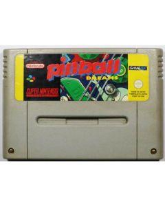 Jeu Pinball Dreams pour Super Nintendo