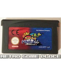 Jeu Pokémon Pinball : Rubis & Saphir pour Gameboy Advance