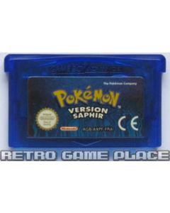 Jeu Pokemon Version Saphir pour Game Boy Advance