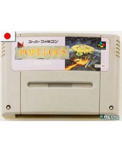 Jeu Populous pour Super Famicom