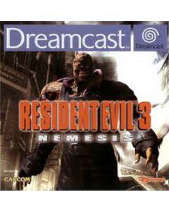 Jeu Resident Evil 3 : Nemesis pour Dreamcast